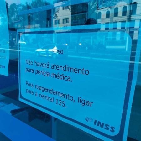 Reabertura das agências do INSS deflagrou uma guerra entre órgãos de governo e os peritos médicos federais - Fabio Munhoz/Folhapress