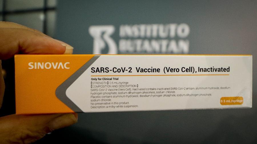 Um ofício foi enviado ao governo de São Paulo hoje pelo Ministério da Saúde solicitando todas as doses disponíveis do imunizante - ALOISIO MAURICIO/ESTADÃO CONTEÚDO