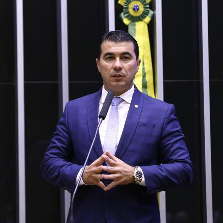 O deputado Luis Miranda (DEM-DF), no plenário da Câmara  - Najara Araújo/Câmara dos Deputados