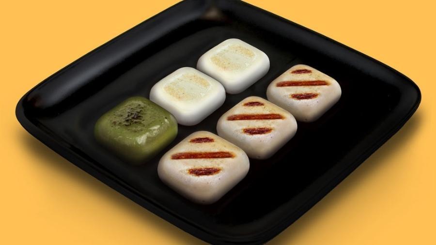 Prato de comida quadrada da SquarEat - Divulgação