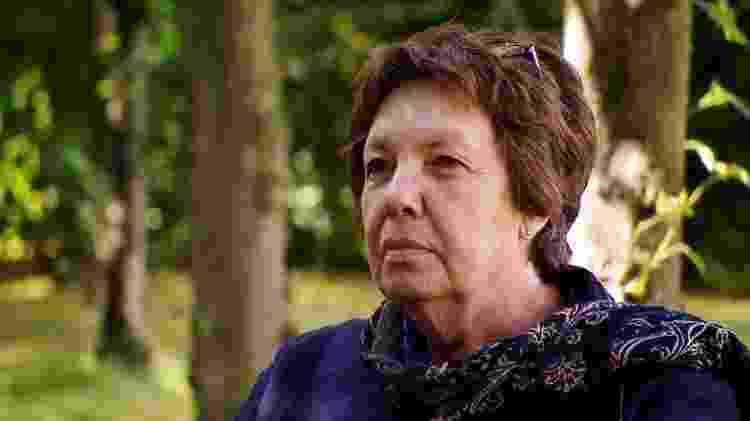 Alemã Ria Matthes avaliou pedidos de benefícios para Joyce Osagiede no norte da Alemanha e foi uma das últimas pessoas a ver Adam vivo - BBC - BBC