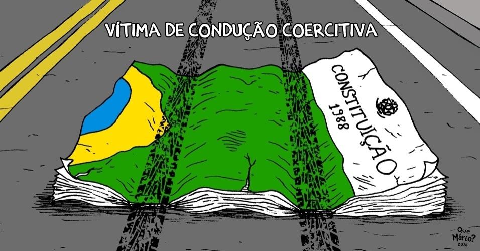 8.mar.2016 - Condução coercitiva passou por cima da Constituição?