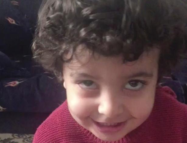 Yousef, o filho mais novo de Mohammed al-Asaadi