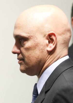 Alexandre de Moraes chega ao plenário da CCJ para a sabatina no Senado