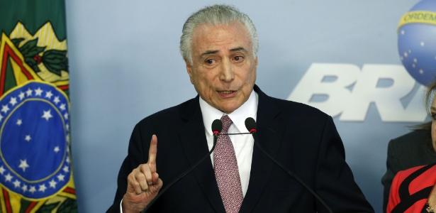 27.jun.2017 - Pronunciamento de Michel Temer sobre denúncia de corrupção apresentada por Rodrigo Janot