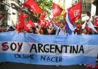 Opinião: Terra natal do papa, Argentina tem debate inesperado sobre aborto - Eitan Abramovich/AFP