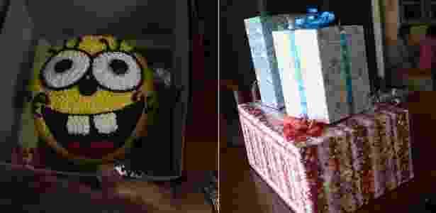 Itens da festa de aniversário preparada pela família de Peerapat Sompiangjai - AFP - AFP