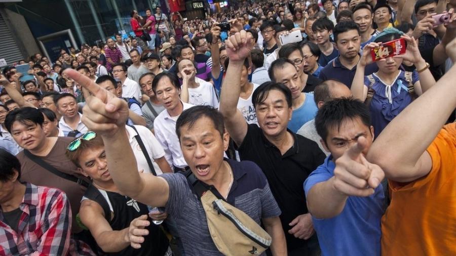 Resultado de imagem para hong kong protestos 2019