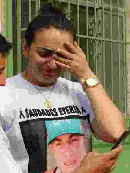 11.nov.2019 - A viúva Ana Arlete Alves Faria, 26, disse que o casal sonhava em ter um filho - Reginaldo Pimenta/Estadão Conteúdo