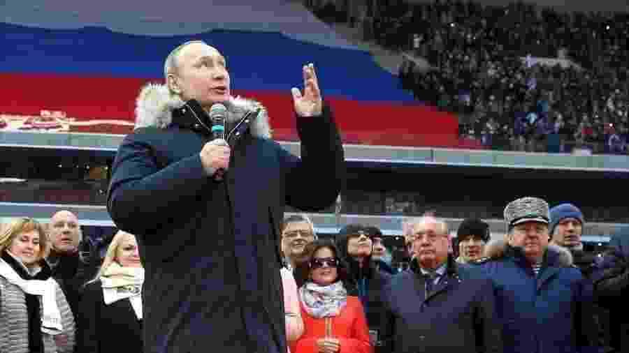 Vladimir Putin completou 20 anos no poder na Rússia neste 31 de dezembro de 2019 - Getty Images
