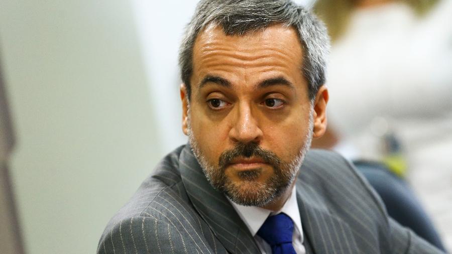 Ministro da Educação, Abraham Weintraub, durante audiência pública - Marcelo Camargo/Agência Brasil