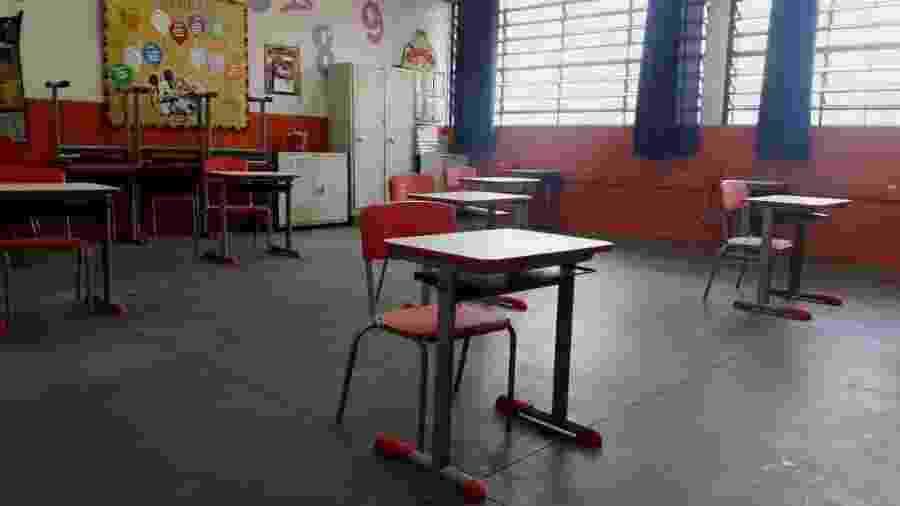 Aulas presenciais foram suspensas no Pará em março deste ano - Wanderley Preite Sobrinho/UOL