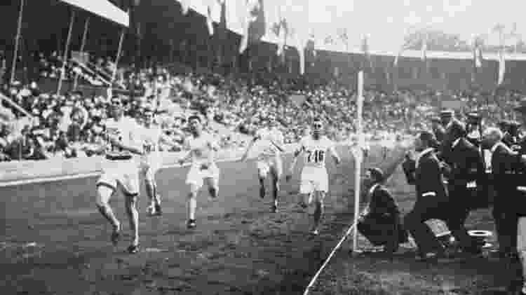 atletismo - olimpiadas de 1912 - 1500m - Comitê Olímpico Internacional - Comitê Olímpico Internacional