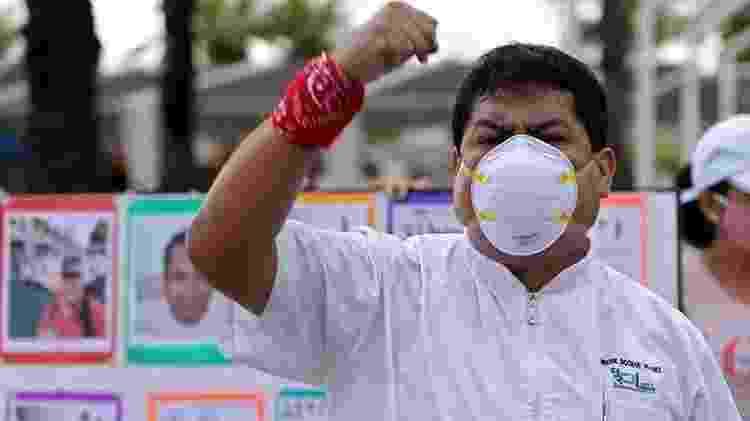 Médicos peruanos entraram em greve três vezes nos últimos seis meses - Getty Images - Getty Images