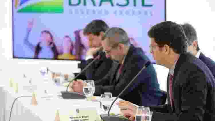 Em reunião ministerial de abril de 2020, Salles disse que, por monopolizar as atenções da imprensa, pandemia criava oportunidade para que o governo 'passasse a boiada` no setor ambiental - Palácio do Planalto - Palácio do Planalto