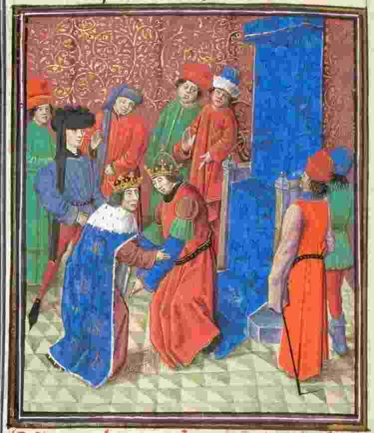 Na época medieval, apenas reis e nobres gozavam de um estilo de vida confortável - Getty Images - Getty Images