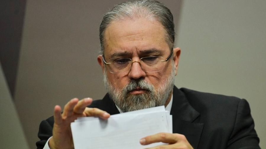 """Professor da USP chamou Aras de """"servo do presidente"""" Jair Bolsonaro e o acusou de """"omissão"""" e """"desfaçatez"""" - Marcelo Camargo/Agência Brasil"""