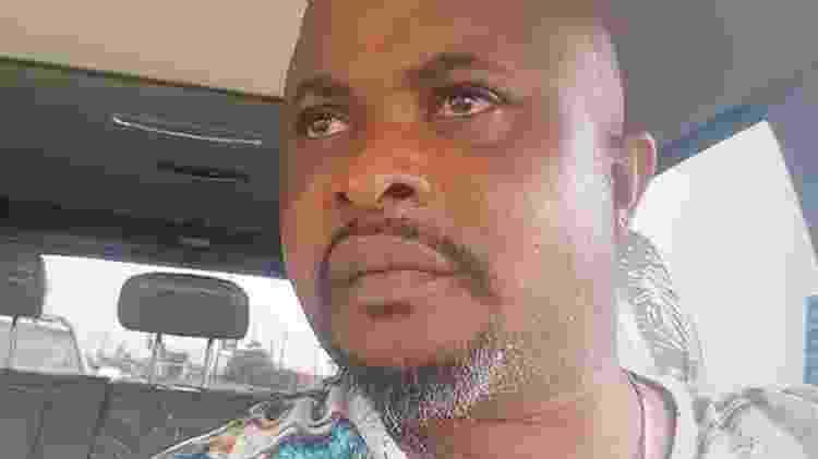 Kingsley Ojo foi localizado na Nigéria pela equipe da BBC - FACEBOOK - FACEBOOK