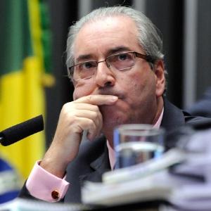 Presidente da Câmara, Eduardo Cunha, durante sessão nesta terça-feira (1º)