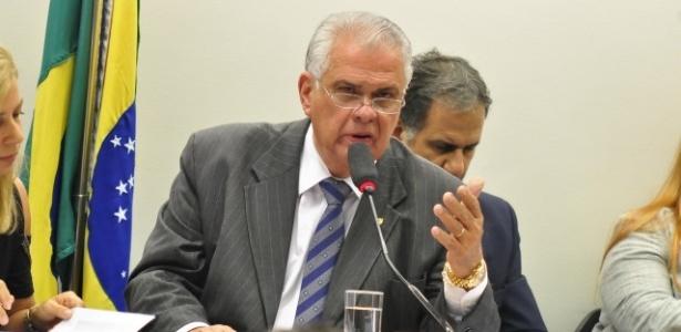 O presidente do Conselho de Ética da Câmara, deputado José Carlos Araújo (PR-BA)
