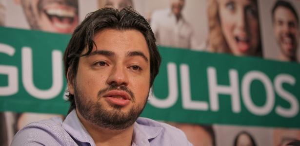 Guti, novo prefeito de Guarulhos, concede entrevista após a confirmação de sua vitória