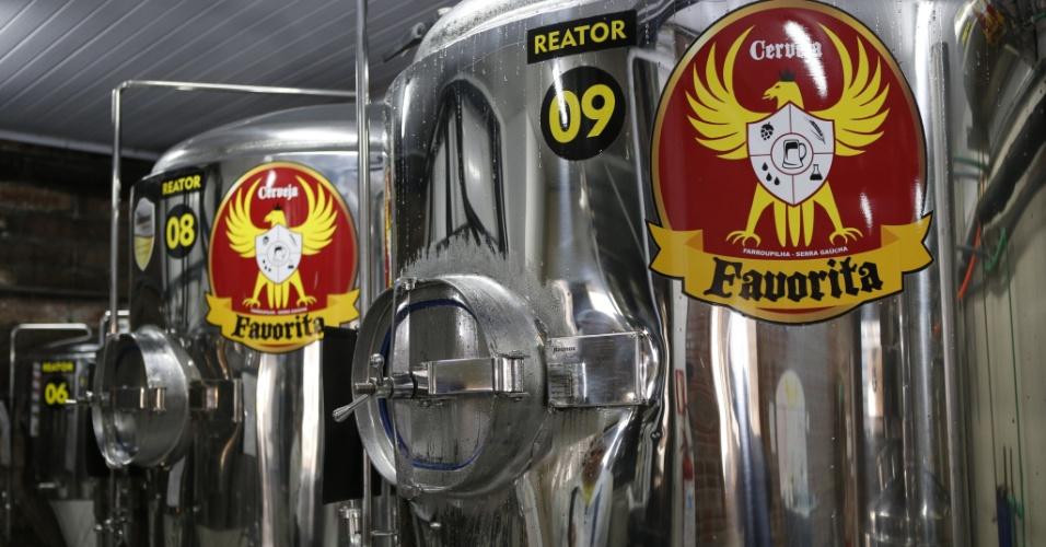 Cervejaria Favorita, de Farroupilha (RS)