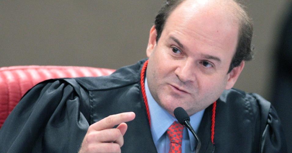O ministro do TSE Tarcísio Vieira de Carvalho Neto, nomeado por Michel Temer