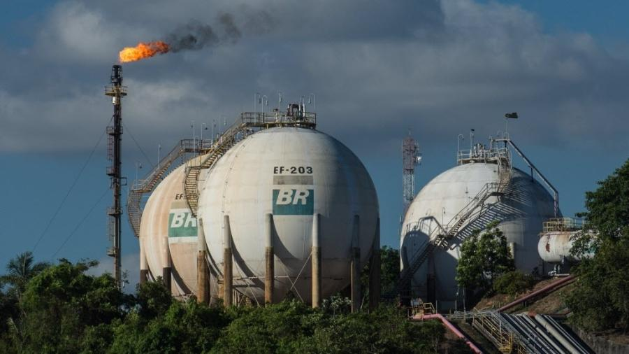 Refinaria da Petrobras em Manaus - Yasuyoshi Chiba/AFP