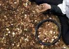 Bancário passa mais de seis meses contando herança deixada em moedas - picture-alliance/dpa