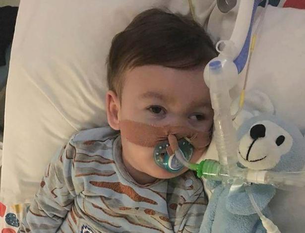 Com quase dois anos, Alfie Evans sofre de uma doença neurológica desconhecida - AFP