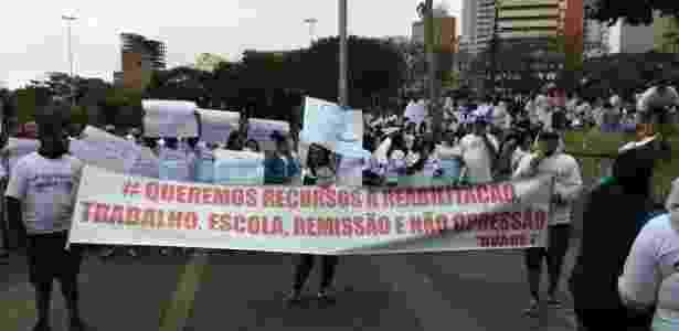 Familiares de presos da unidade de Avaré 1 protestam contra supostos atos de tortura - Renan Bortoletto/Liberum