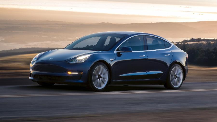 Model 3, carro da Tesla - Tesla