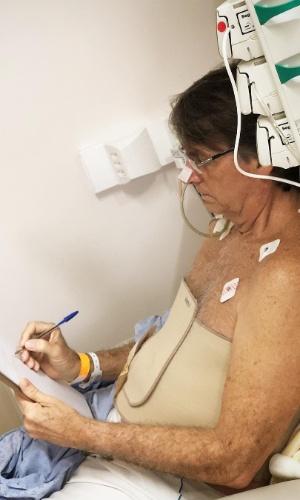 18.set.2018 - Jair Bolsonaro, internado no hospital Albert Einstein, em SP