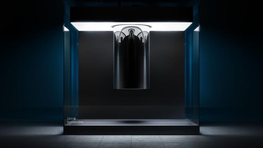 Sistema Q, o computador quântico da IBM para empresas  - Divulgação/IBM