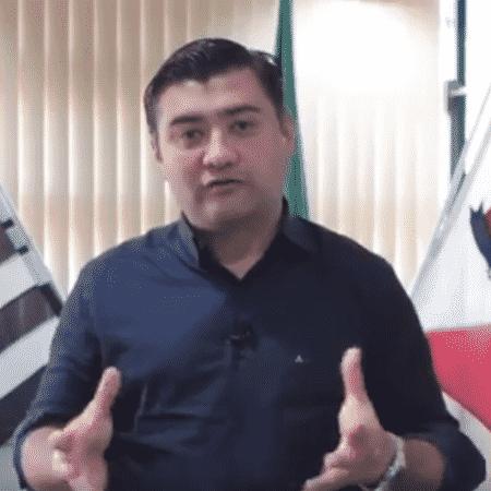 O prefeito da cidade de Suzano, Rodrigo Kenji de Souza Ashiuchi (PR) - Reprodução