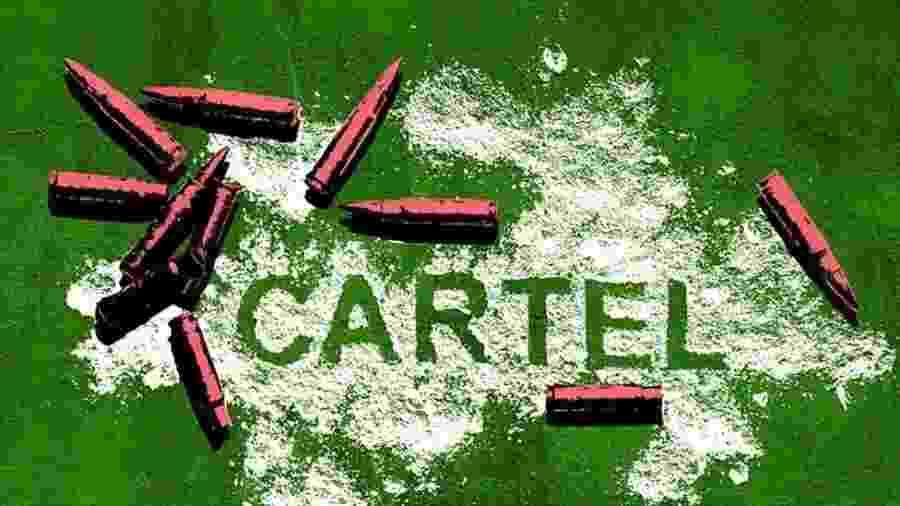 Mexicano conta como foi crescer cercado por violência e ir parar no marketing de um cartel de drogas - BBC Three/iStock/BBC