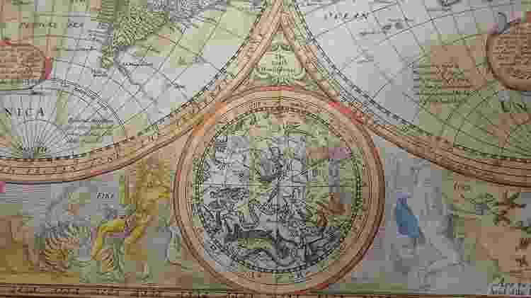 mapa mundi raro - Woolley and Wallis - Woolley and Wallis