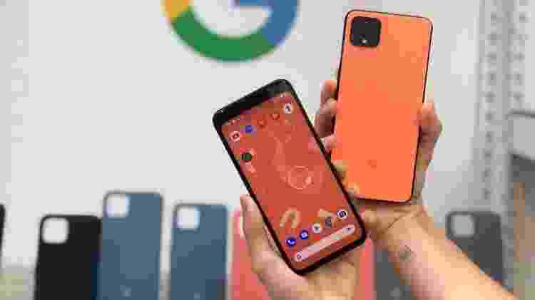 Pixel 4 e Pixel 4 XL - novos celulares do Google - Gabriel Francisco Ribeiro/Tilt - Gabriel Francisco Ribeiro/Tilt