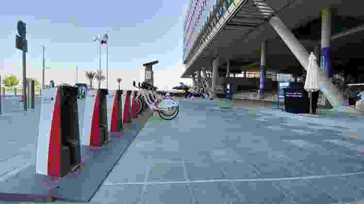Cidade é planejada para ser viável para ciclistas e pedestres - Gabriel Francisco Ribeiro/UOL - Gabriel Francisco Ribeiro/UOL