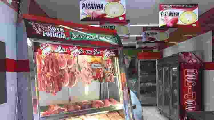 Açougue em Pinheiros tirou os preços das placas: 'A cada novo pedido, aumenta um pouco', diz gerente - Lucas Borges Teixeira/UOL