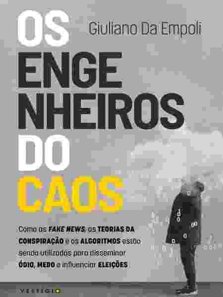 """Capa do livro """"Os engenheiros do caos"""" - Divulgação"""
