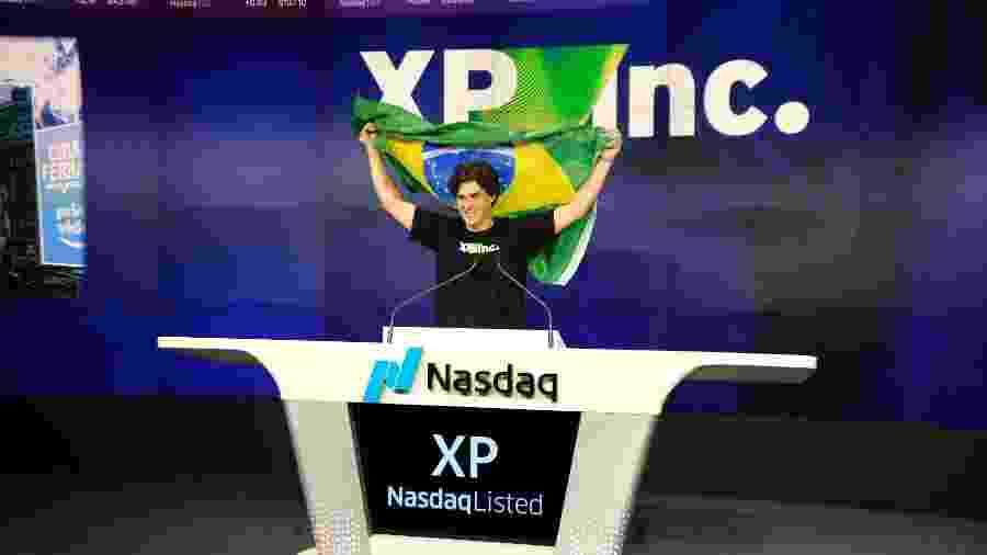 Presidente da XP, Guilherme Benchimol, comemora IPO da companhia na Nasdaq -