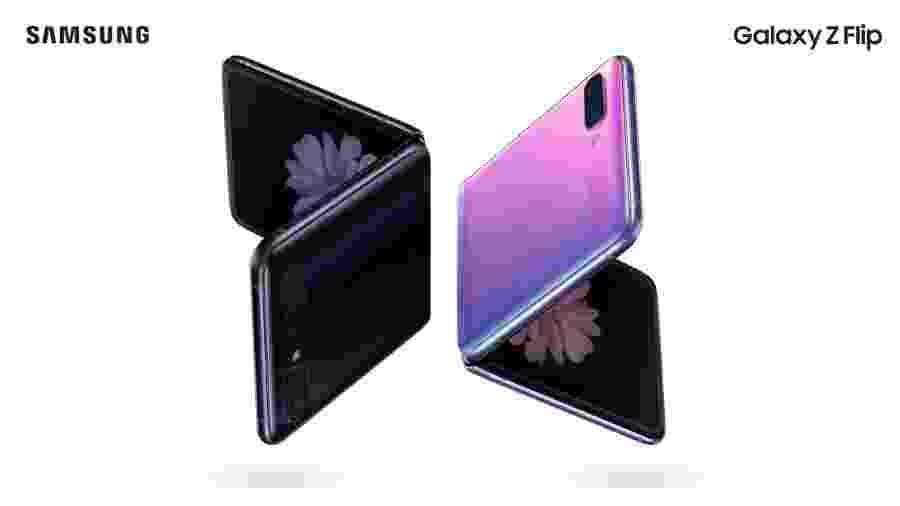 Samsung apresenta o Galaxy Z Flip - Reprodução/Samsung