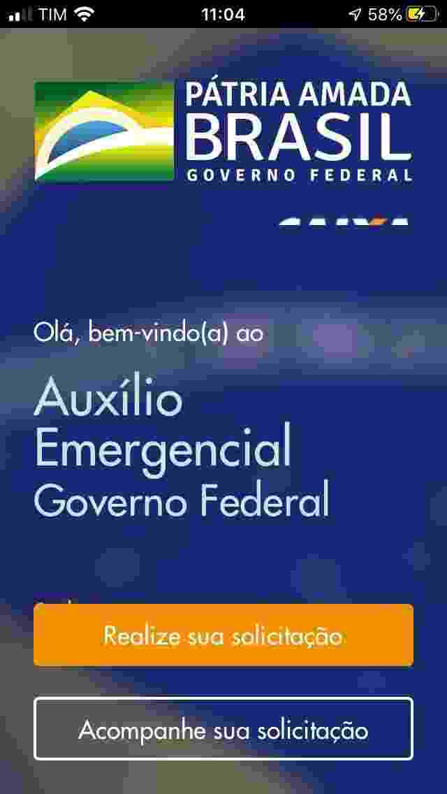 Caixa Auxílio Emergencial 1 - Reprodução