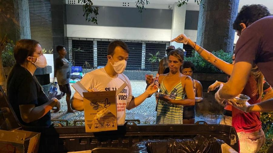 Covid sem Fome tenta auxiliar moradores de rua durante pandemia do coronavírus - Caio Blois/UOL