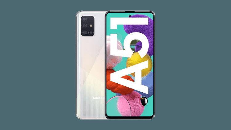 Samsung Galaxy A51 - Divulgação - Divulgação