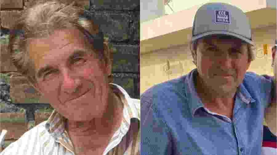 Urivaldo, à esquerda, e Valdir morreram no mesmo dia - Arquivo Pessoal