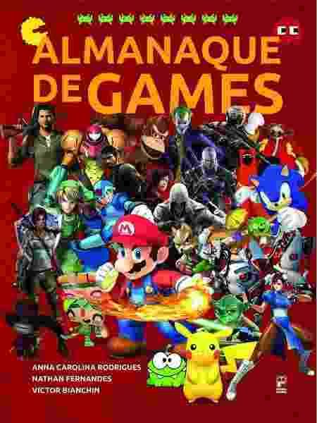 Almanaque de games - Divulgação - Divulgação