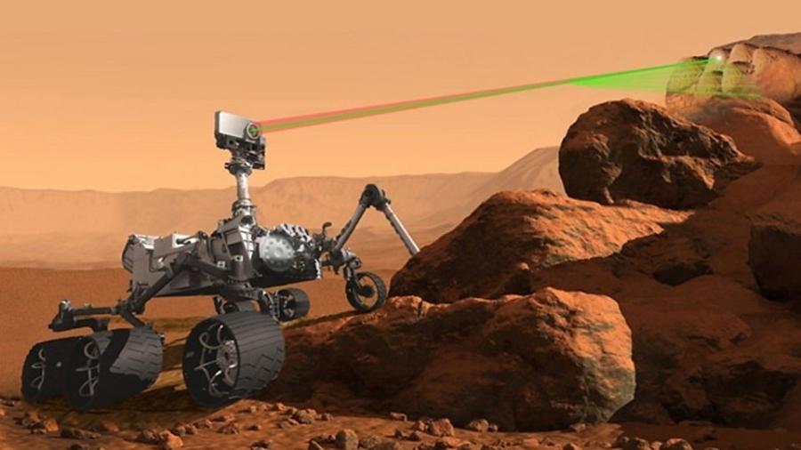 Desde seu pouso histórico em fevereiro, o rover Perseverance também tem enviado fotos e vídeos de Marte - Divulgação/Nasa