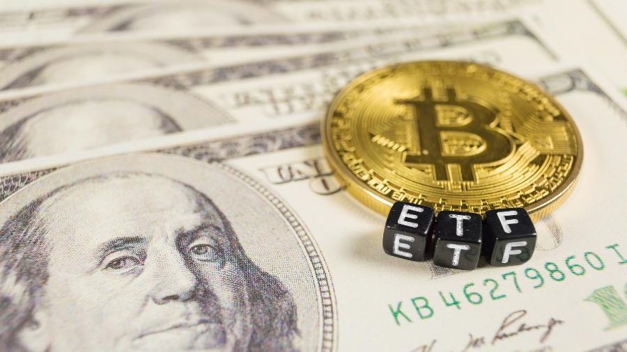 Em abril, o bitcoin registrou sua máxima histórica de quase 65 mil dólares - Getty Images